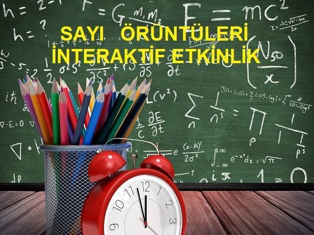 Sayi Oruntuleri Interaktif Etkinlik Ortaokul Matematik